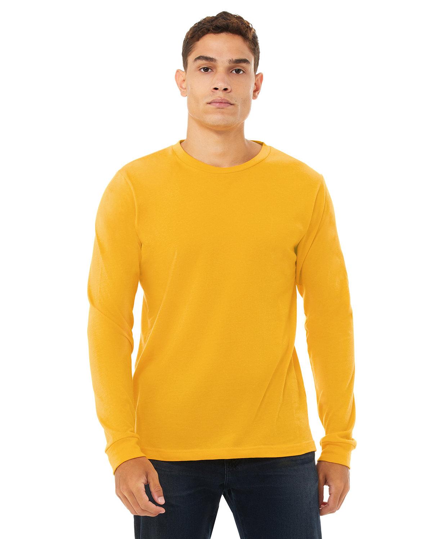 Bella + Canvas Unisex Jersey Long-Sleeve T-Shirt GOLD
