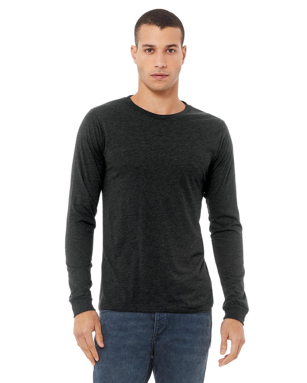 Bella + Canvas Unisex Jersey Long-Sleeve T-Shirt CHRCL BLCK TRBLN