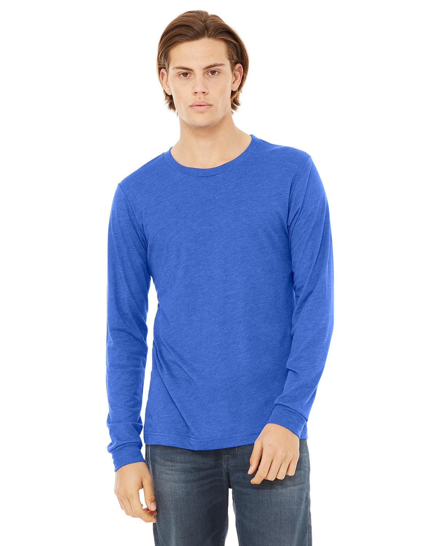 Bella + Canvas Unisex Jersey Long-Sleeve T-Shirt TRUE ROYAL TRBLN