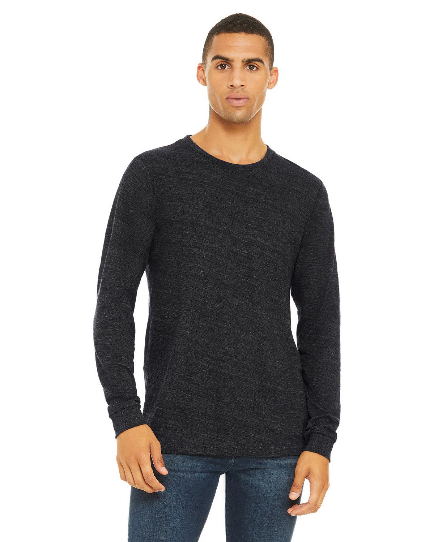 Bella + Canvas Unisex Jersey Long-Sleeve T-Shirt CHRCL BLK SLUB