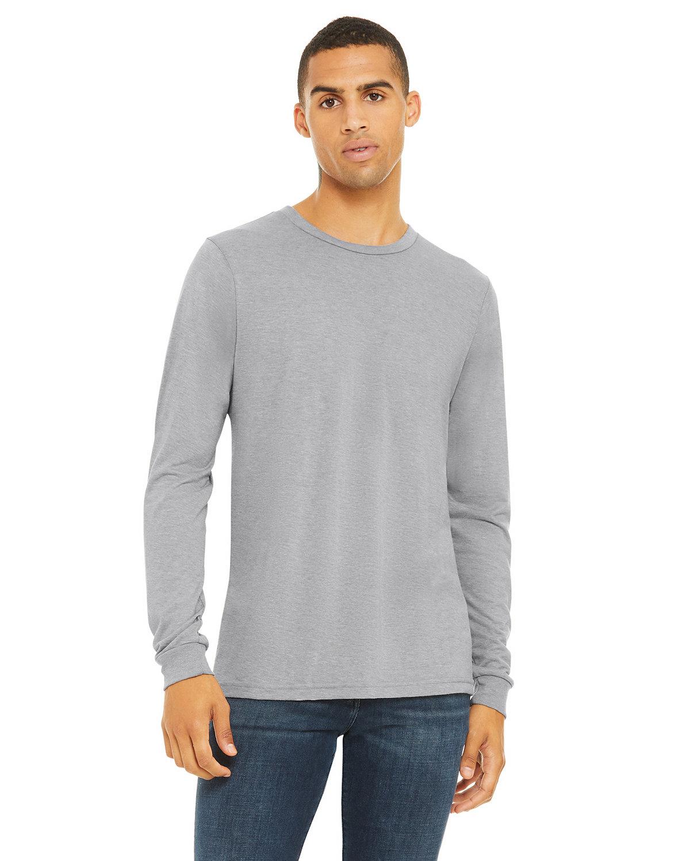 Bella + Canvas Unisex Jersey Long-Sleeve T-Shirt ATH GREY TRIBLND