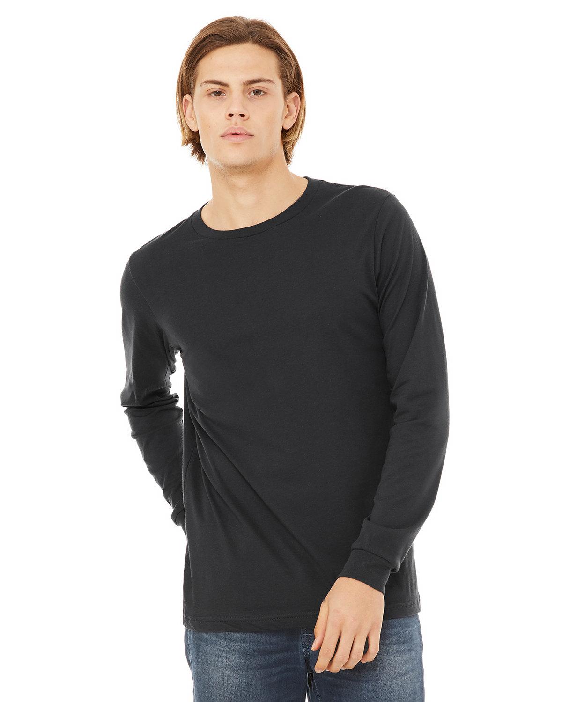 Bella + Canvas Unisex Jersey Long-Sleeve T-Shirt DARK GREY
