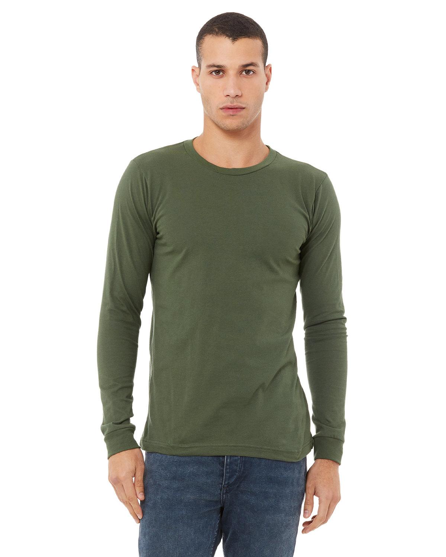 Bella + Canvas Unisex Jersey Long-Sleeve T-Shirt MILITARY GREEN