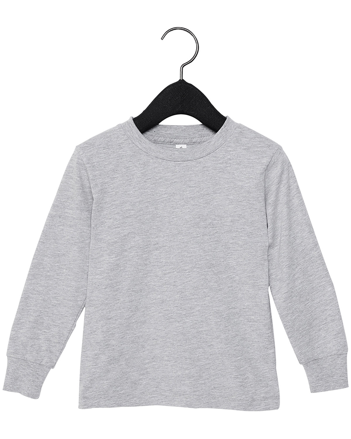 Bella + Canvas Youth Toddler Jersey Long Sleeve T-Shirt ATHLETIC HEATHER