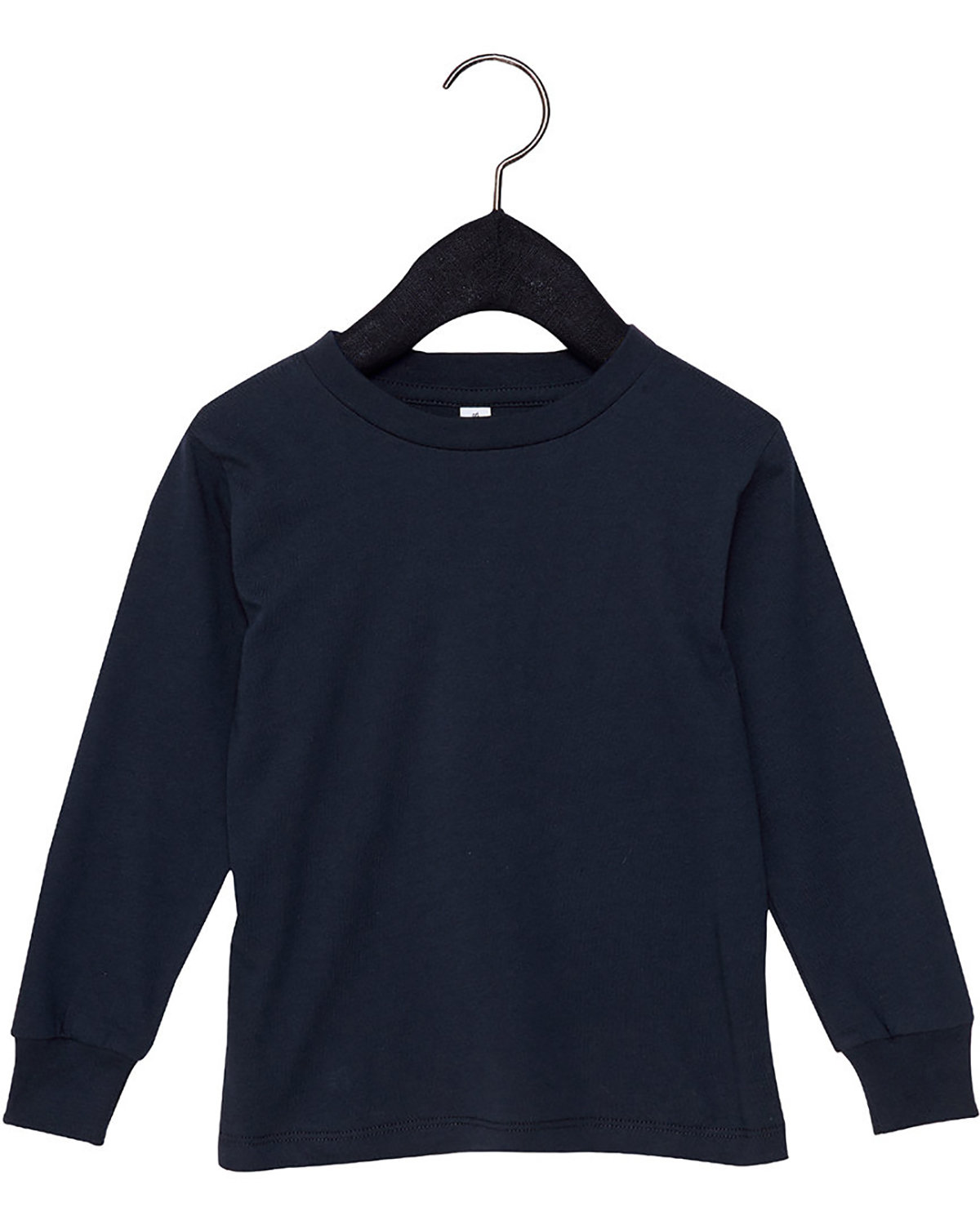 Bella + Canvas Youth Toddler Jersey Long Sleeve T-Shirt NAVY