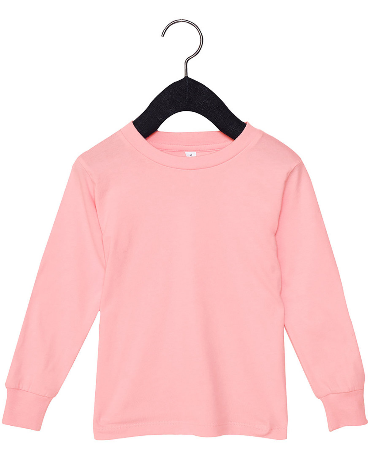 Bella + Canvas Youth Toddler Jersey Long Sleeve T-Shirt PINK