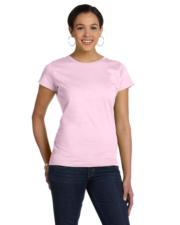 LAT Ladies' Fine Jersey T-Shirt PINK