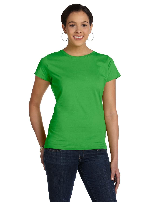 LAT Ladies' Fine Jersey T-Shirt APPLE
