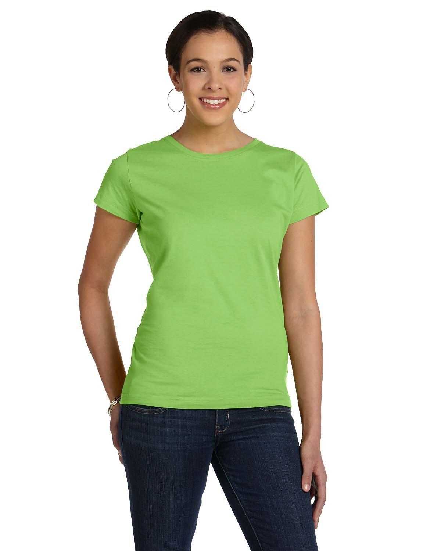 LAT Ladies' Fine Jersey T-Shirt KEY LIME