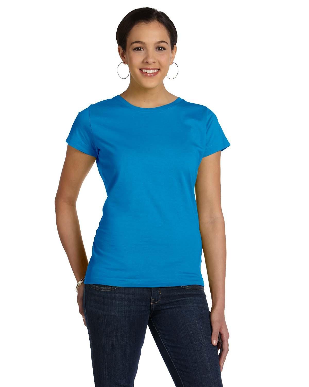 LAT Ladies' Fine Jersey T-Shirt COBALT