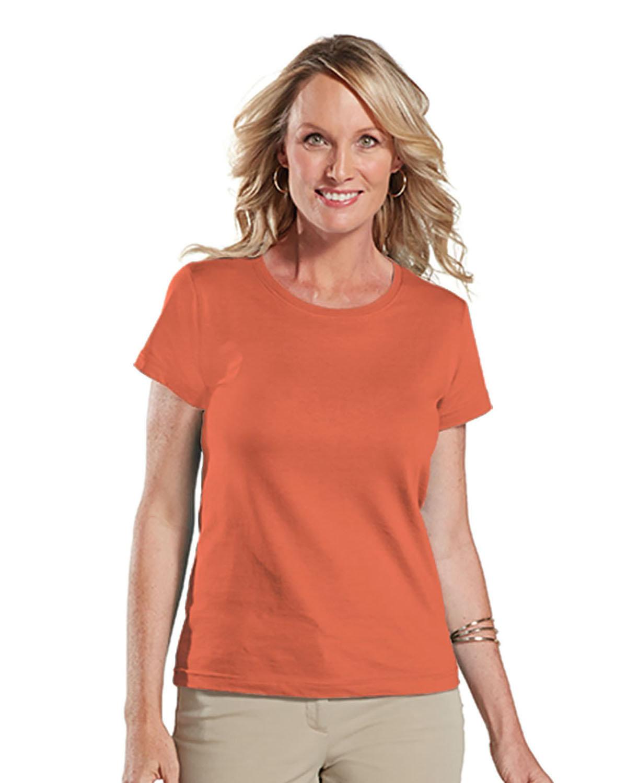 LAT Ladies' Fine Jersey T-Shirt PAPAYA