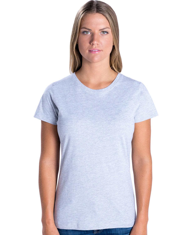 LAT Ladies' Fine Jersey T-Shirt ASH