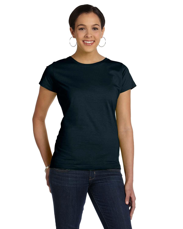LAT Ladies' Fine Jersey T-Shirt BLACK