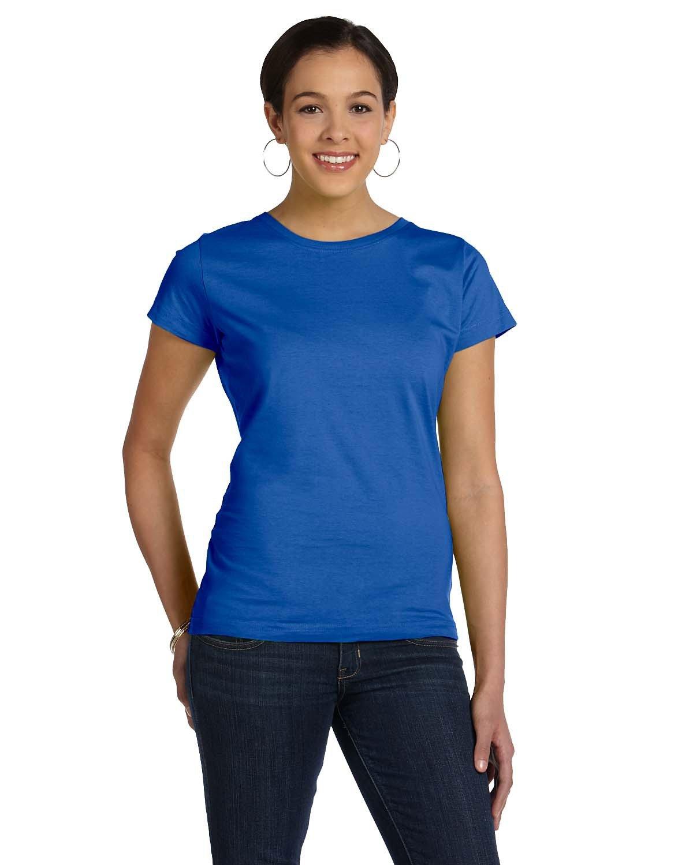 LAT Ladies' Fine Jersey T-Shirt ROYAL
