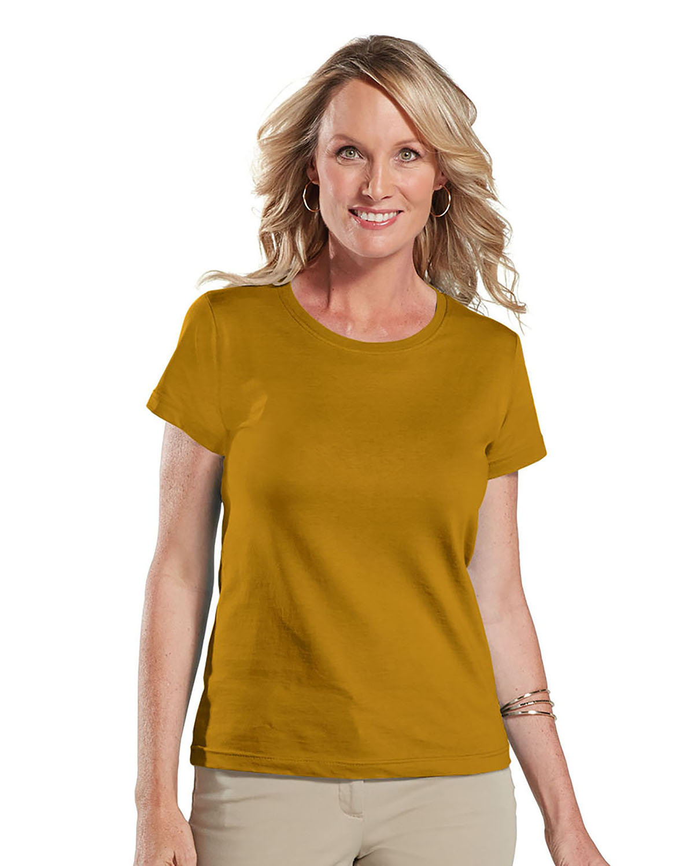 LAT Ladies' Fine Jersey T-Shirt GOLD
