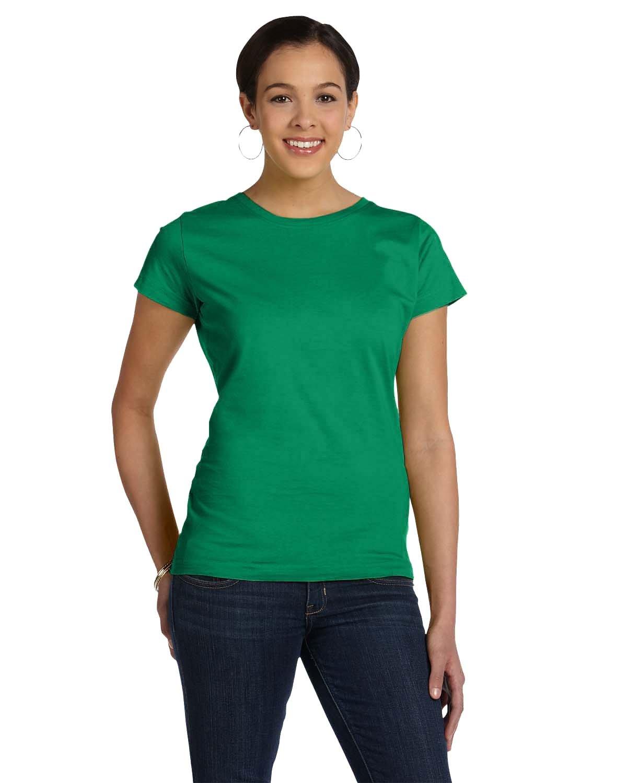 LAT Ladies' Fine Jersey T-Shirt KELLY