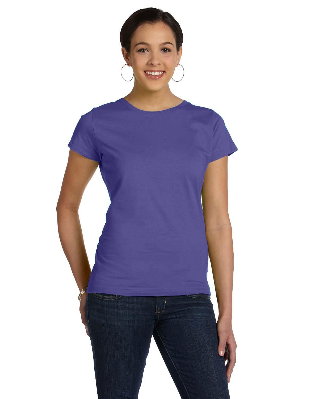 LAT Ladies' Fine Jersey T-Shirt PURPLE