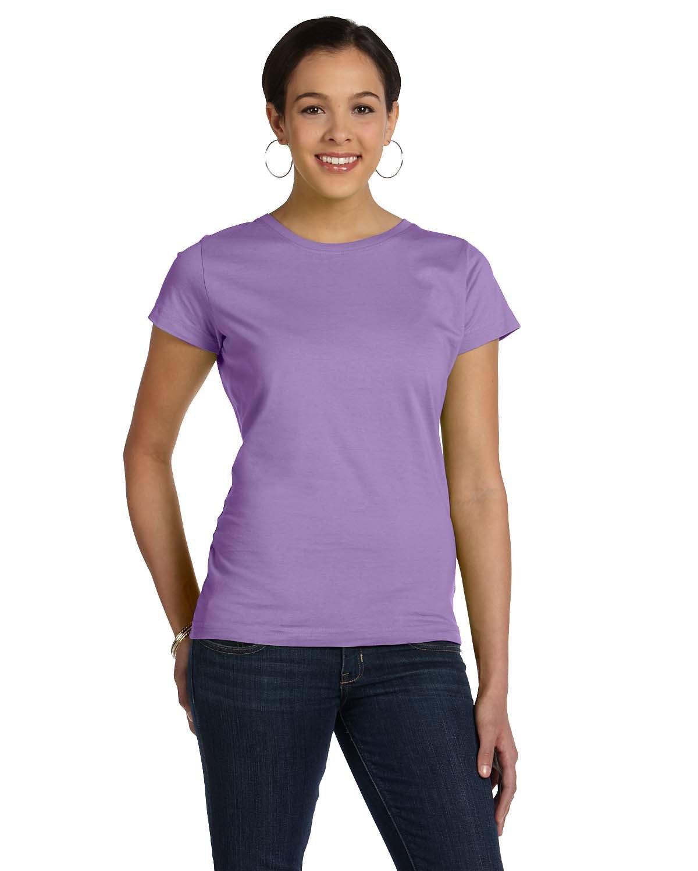 LAT Ladies' Fine Jersey T-Shirt LAVENDER