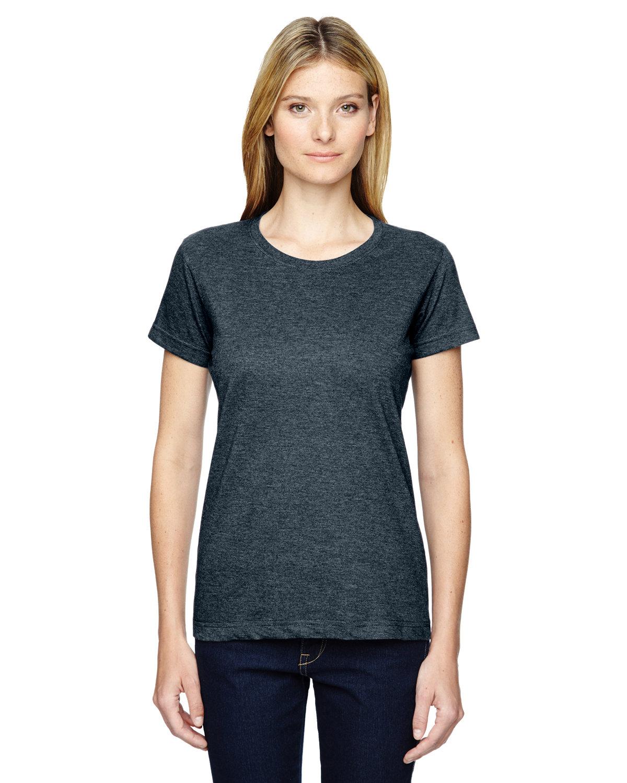 LAT Ladies' Fine Jersey T-Shirt VINTAGE NAVY