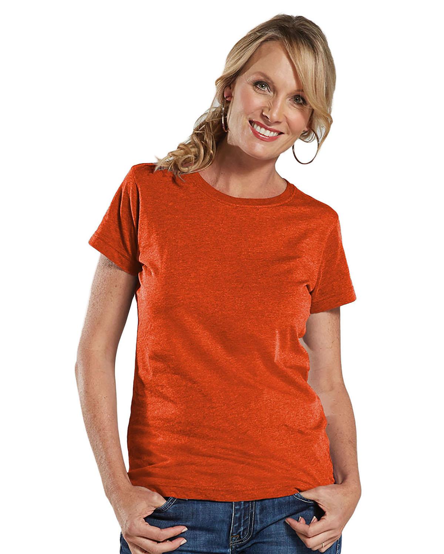 LAT Ladies' Fine Jersey T-Shirt VINTAGE ORANGE
