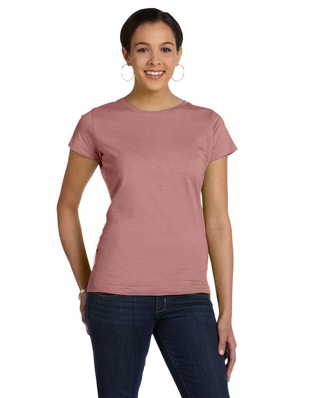 LAT Ladies' Fine Jersey T-Shirt MAUVELOUS