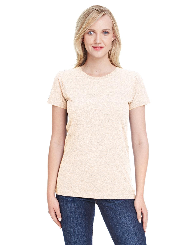 LAT Ladies' Fine Jersey T-Shirt NATURAL HEATHER