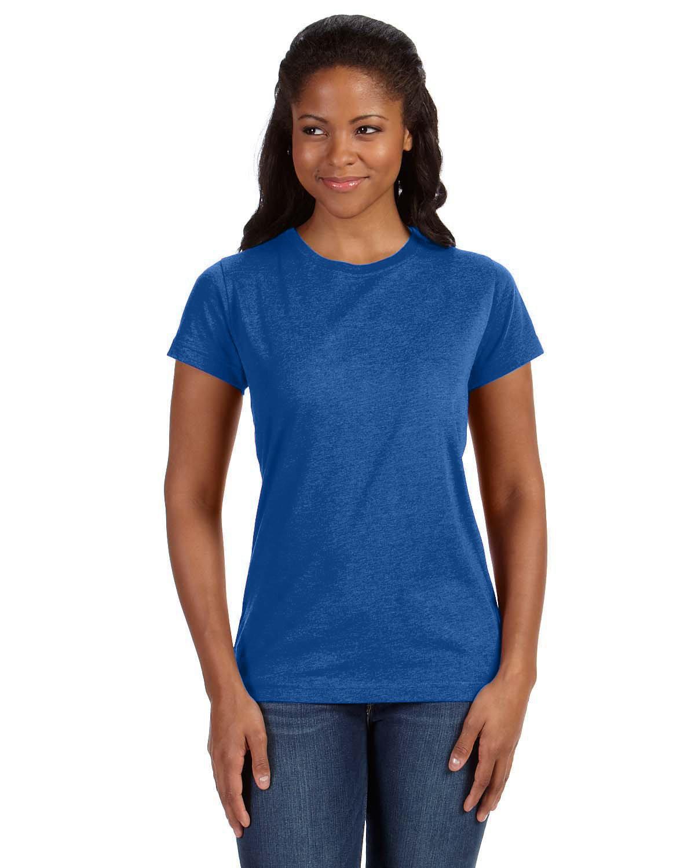 LAT Ladies' Fine Jersey T-Shirt VINTAGE ROYAL