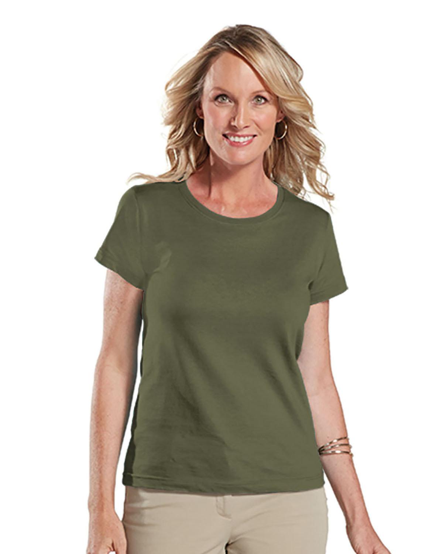 LAT Ladies' Fine Jersey T-Shirt MILITARY GREEN