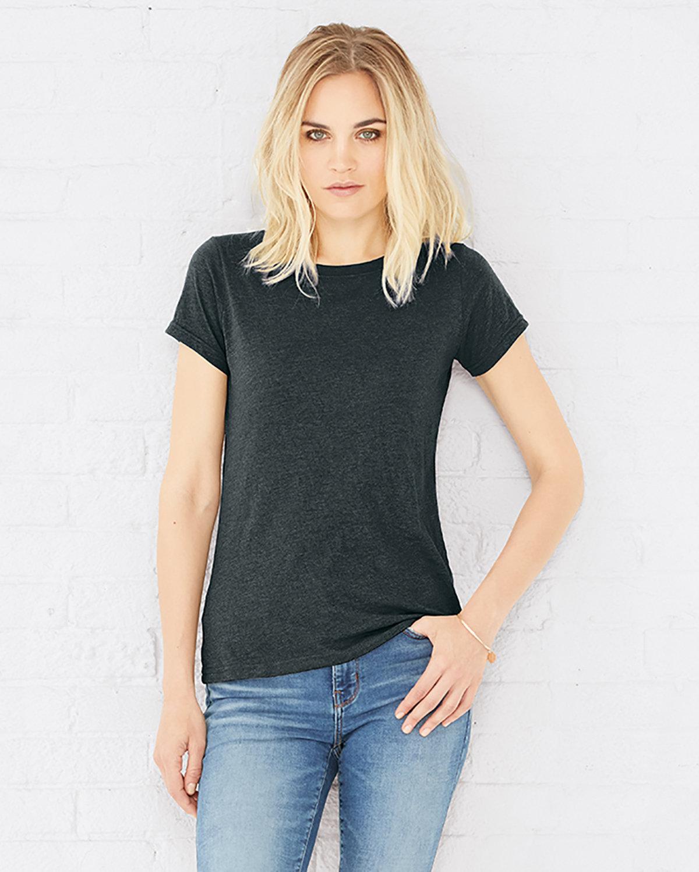 LAT Ladies' Fine Jersey T-Shirt VINTAGE SMOKE