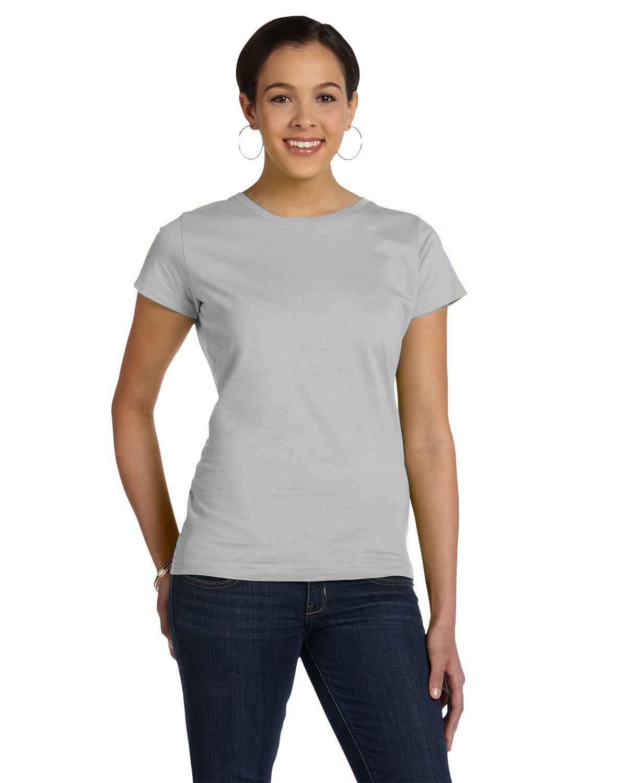 LAT Ladies' Fine Jersey T-Shirt TITANIUM