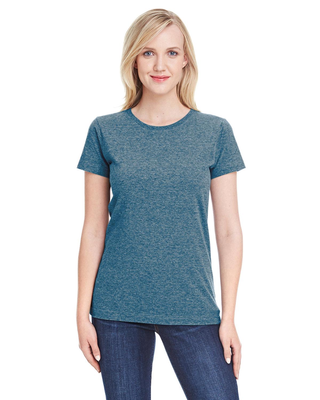 LAT Ladies' Fine Jersey T-Shirt VINTAGE INDIGO