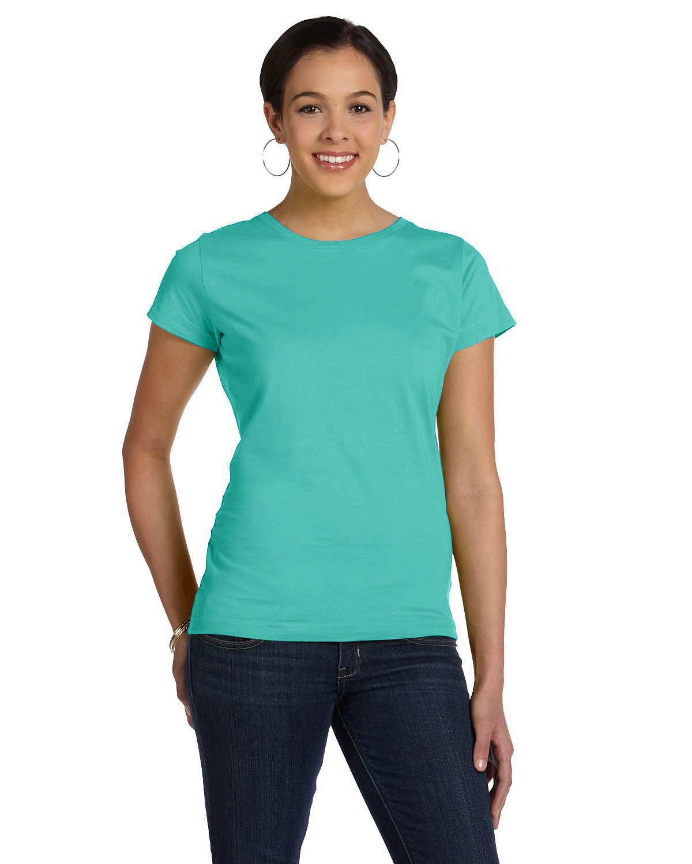 LAT Ladies' Fine Jersey T-Shirt CARIBBEAN