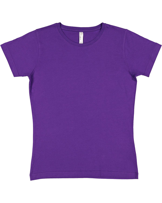 LAT Ladies' Fine Jersey T-Shirt PRO PURPLE