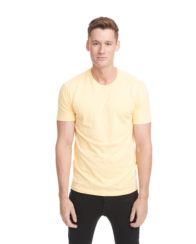 Next Level Unisex Cotton T-Shirt BANANA CREAM