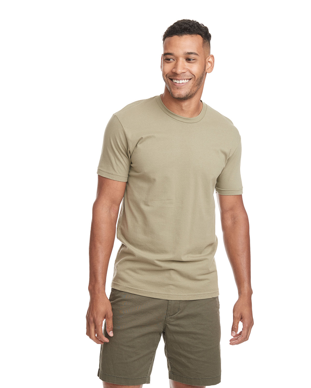Next Level Unisex Cotton T-Shirt LIGHT OLIVE