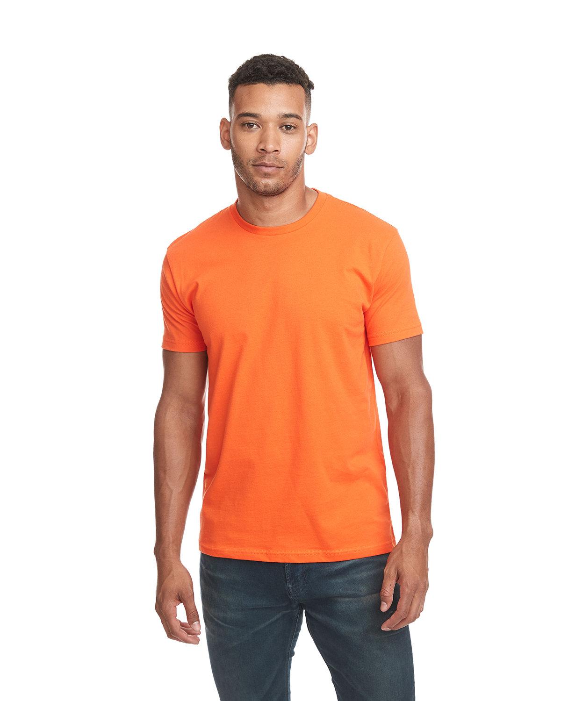Next Level Unisex Cotton T-Shirt CLASSIC ORANGE