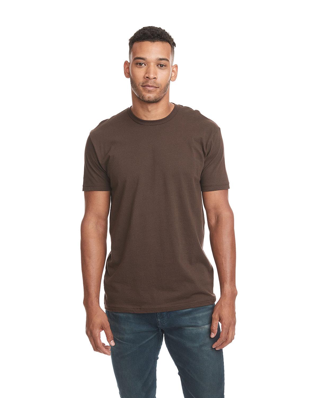 Next Level Unisex Cotton T-Shirt DARK CHOCOLATE