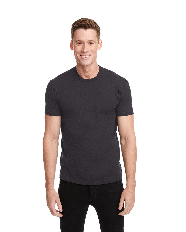 Next Level Unisex Cotton T-Shirt GRAPHITE BLACK