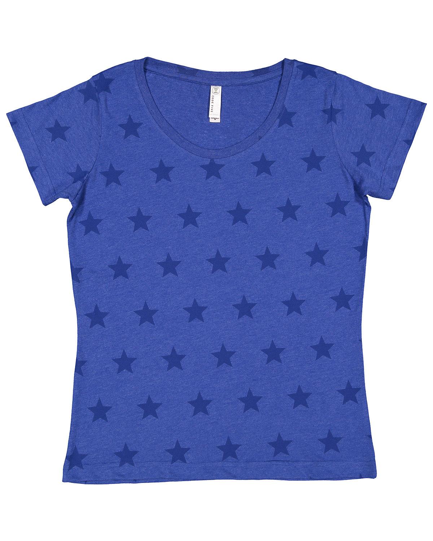 Code Five Ladies' Five Star T-Shirt ROYAL STAR