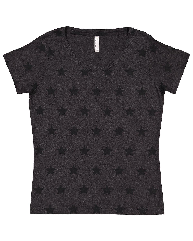 Code Five Ladies' Five Star T-Shirt SMOKE STAR