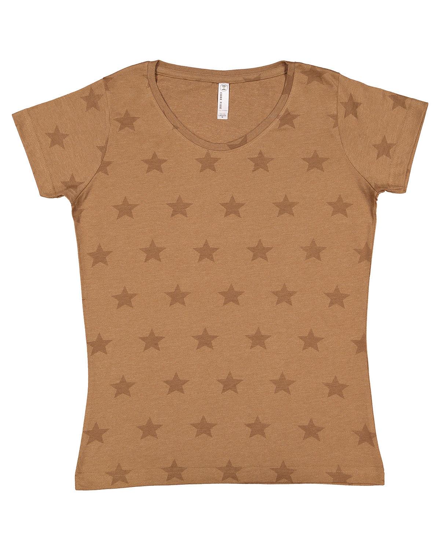 Code Five Ladies' Five Star T-Shirt COYOTE BRWN STAR