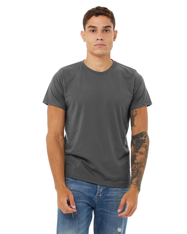 Bella + Canvas Unisex Poly-Cotton Short-Sleeve T-Shirt ASPHALT