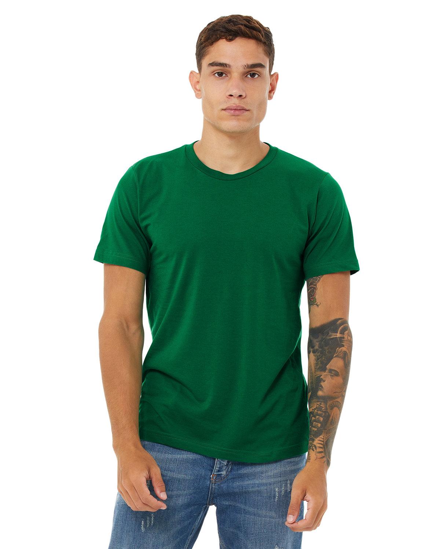 Bella + Canvas Unisex Poly-Cotton Short-Sleeve T-Shirt KELLY