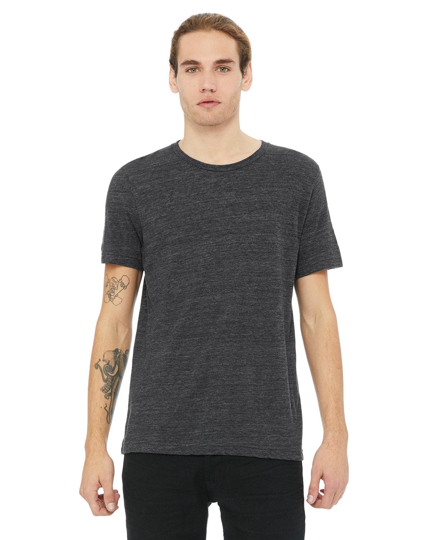 Bella + Canvas Unisex Poly-Cotton Short-Sleeve T-Shirt CHRCL BLK SLUB