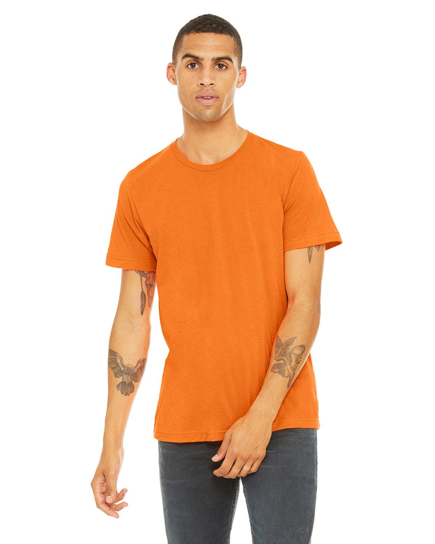 Bella + Canvas Unisex Poly-Cotton Short-Sleeve T-Shirt NEON ORANGE