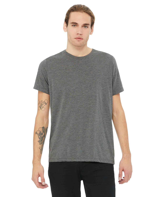 Bella + Canvas Unisex Poly-Cotton Short-Sleeve T-Shirt DP HTR SPECKLED