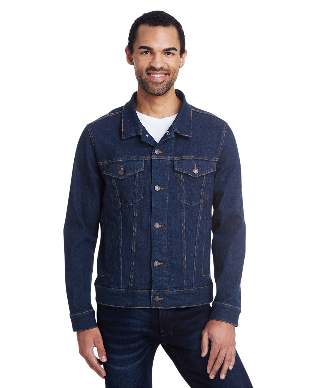 Threadfast Apparel Unisex Denim Jacket CLASSIC DENIM