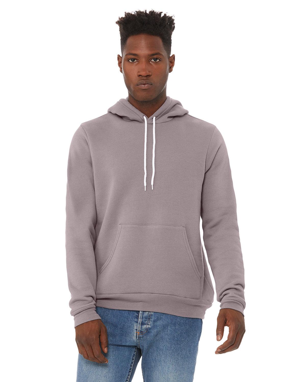 Bella + Canvas Unisex Sponge Fleece Pullover Hooded Sweatshirt STORM
