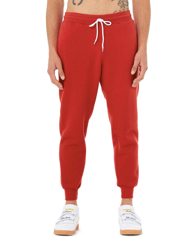 Bella + Canvas Unisex Jogger Sweatpant RED
