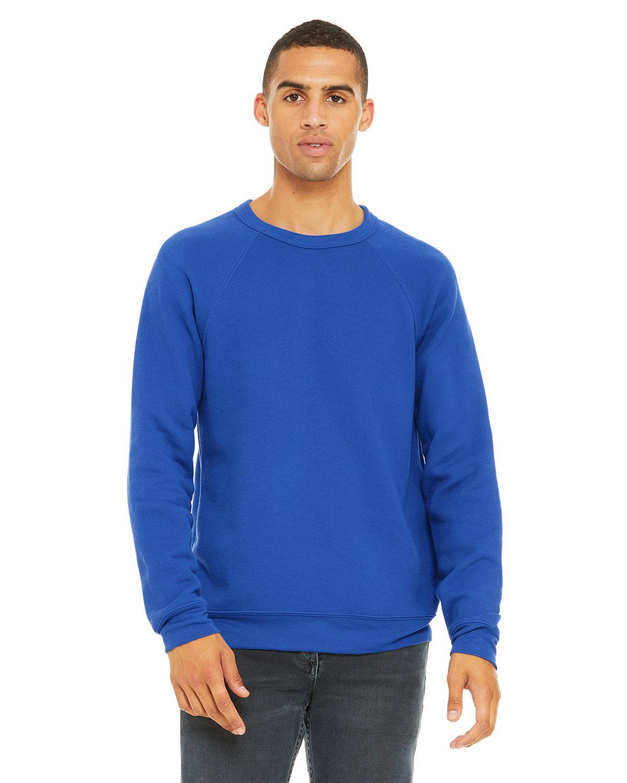 Bella + Canvas Unisex Sponge Fleece Crewneck Sweatshirt TRUE ROYAL